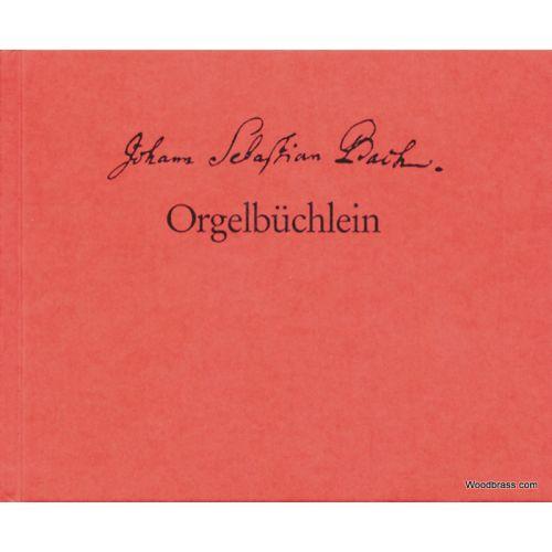 BARENREITER BACH J.S. - ORGELBÜCHLEIN BWV 599-644 - FAC SIMILE