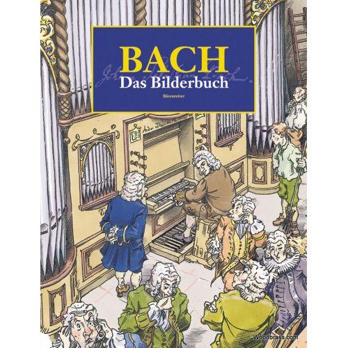 BARENREITER HEIMBUCHER CH. / GRIESE D. - BACH - DAS BILDERBUCH