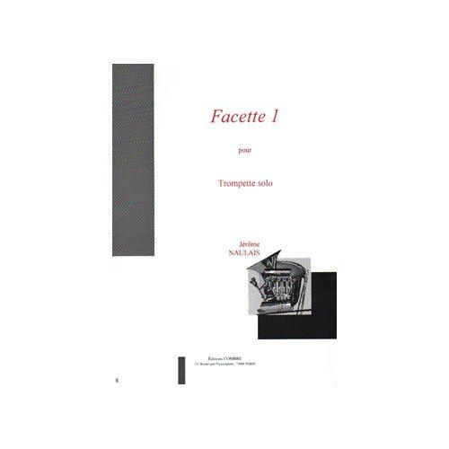 COMBRE NAULAIS JEROME - FACETTE 1 - TROMPETTE SOLO