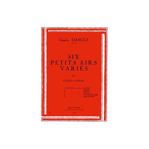 COMBRE DANCLA CHARLES - AIR VARIE N.6 SUR UN THEME DE MERCADANTE OP.89 - VIOLON ET PIANO