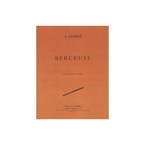 COMBRE LEGROS ANDRE - BERCEUSE - FLUTE ET PIANO