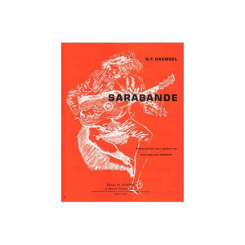 COMBRE HAENDEL GEORG FRIEDRICH - SARABANDE - GUITARE
