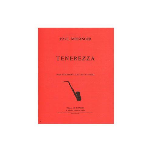 COMBRE MERANGER PAUL - TENEREZZA - SAXOPHONE ET PIANO