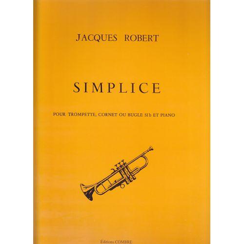 COMBRE ROBERT J. - SIMPLICE - TROMPETTE ET PIANO