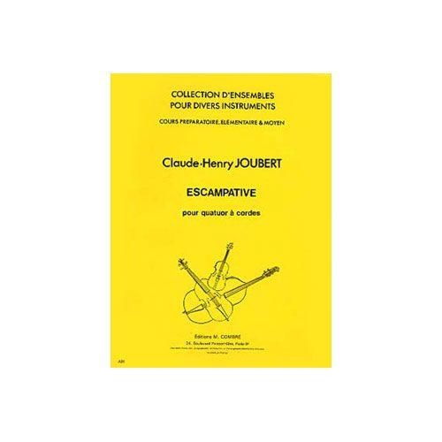 COMBRE JOUBERT CLAUDE-HENRY - ESCAMPATIVE - 4 VIOLONS