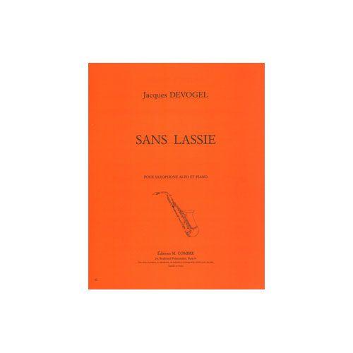 COMBRE DEVOGEL JACQUES - SANS LASSIE - SAXOPHONE MIB OU CLARINETTE SIB ET PIANO