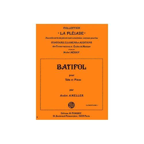 COMBRE AMELLER ANDRE - BATIFOL - TUBA ET PIANO