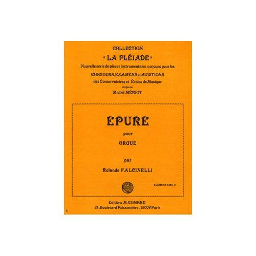 COMBRE FALCINELLI ROLANDE - EPURE OP.66 N.1 - ORGUE