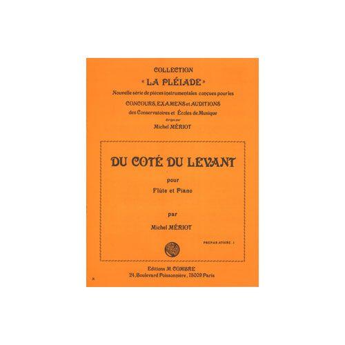 COMBRE MERIOT MICHEL - DU CÔTE DU LEVANT - FLUTE ET PIANO