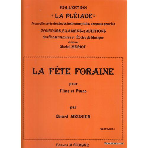 COMBRE MEUNIER G. - LA FETE FORAINE - FLUTE & PIANO