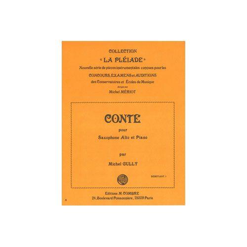 COMBRE GULLY MICHEL - CONTE - SAXOPHONE ET PIANO