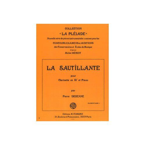 COMBRE DEGENNE PIERRE - LA SAUTILLANTE - CLARINETTE ET PIANO