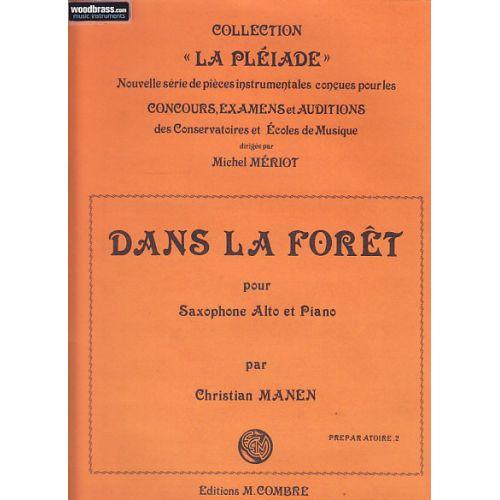 COMBRE MANEN CHRISTIAN - DANS LA FORET - SAXOPHONE ALTO ET PIANO