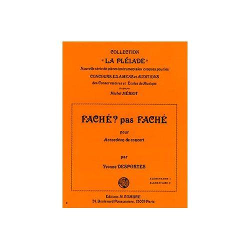 COMBRE DESPORTES YVONNE - FACHE, PAS FACHE - ACCORDEON