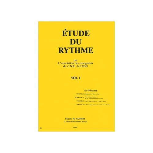 COMBRE CNR DE LYON - ETUDE DU RYTHME VOL.1 - FORMATION MUSICALE