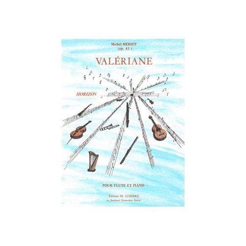 COMBRE MERIOT MICHEL - VALERIANE - FLUTE ET PIANO