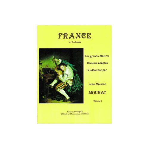 COMBRE MOURAT JEAN-MAURICE - LES GRANDS MAÎTRES : FRANCE VOL.1 - GUITARE