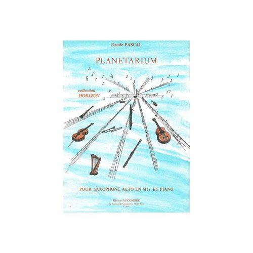 COMBRE PASCAL CLAUDE - PLANETARIUM - SAXOPHONE ET PIANO