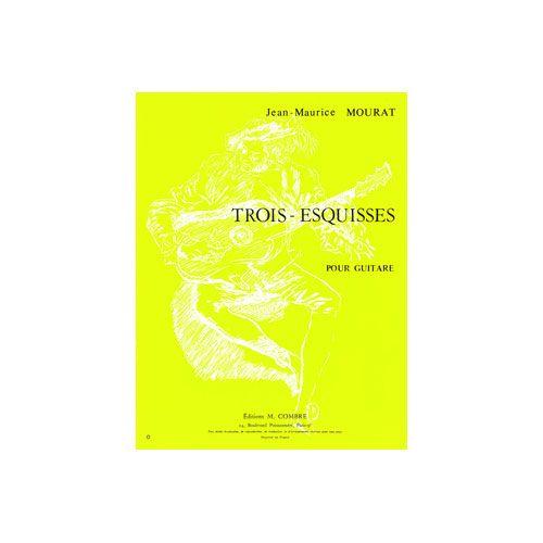 COMBRE MOURAT JEAN-MAURICE - ESQUISSES (3) - GUITARE