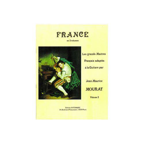 COMBRE MOURAT JEAN-MAURICE - LES GRANDS MAÎTRES : FRANCE VOL.2 - GUITARE