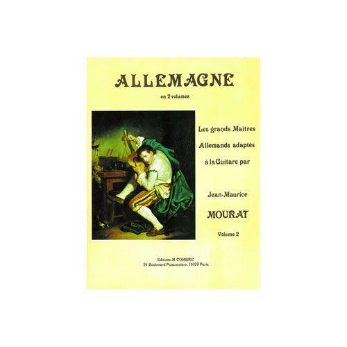 COMBRE MOURAT JEAN-MAURICE - LES GRANDS MAÎTRES : ALLEMAGNE VOL.2 - GUITARE