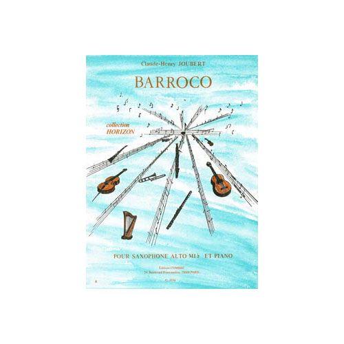 COMBRE JOUBERT CLAUDE-HENRY - BAROCCO - SAX ALTO, PIANO