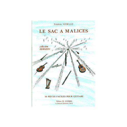 COMBRE VITIELLO FREDERIC - LE SAC A MALICES (10 PIECES) - GUITARE