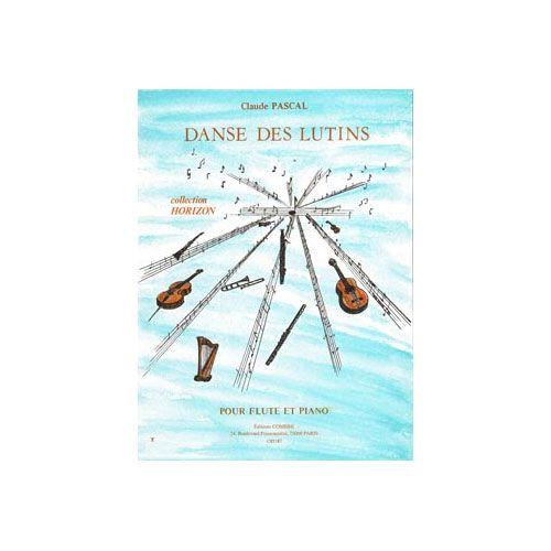 COMBRE PASCAL CLAUDE - DANSE DES LUTINS - FLUTE ET PIANO