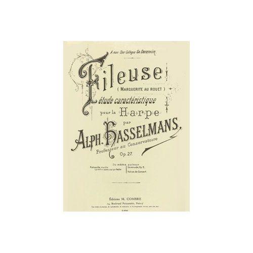 COMBRE HASSELMANS ALPHONSE - LA FILEUSE OP.27 - HARPE