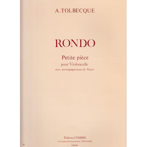 COMBRE TOLBECQUE A. - RONDO - VIOLONCELLE ET PIANO