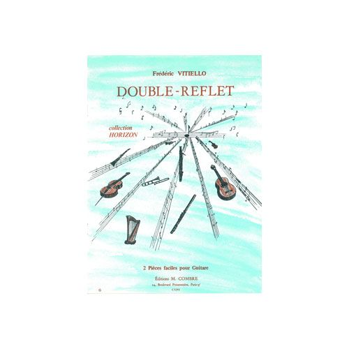 COMBRE VITIELLO FREDERIC - DOUBLE REFLET (2 PIECES) - GUITARE