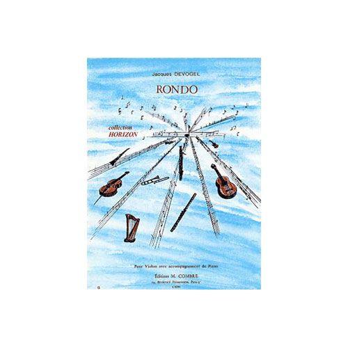 COMBRE DEVOGEL JACQUES - RONDO - VIOLON ET PIANO