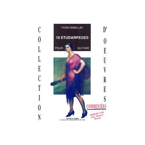 COMBRE DEMILLAC YVON - ETUDARPEGES (10) - GUITARE