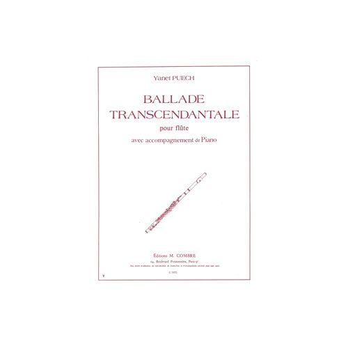 COMBRE PUECH YANET - BALLADE TRANSCENDANTALE - FLUTE ET PIANO