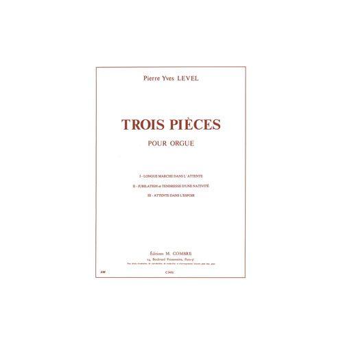 COMBRE LEVEL PIERRE-YVES - PIECES (3) - ORGUE