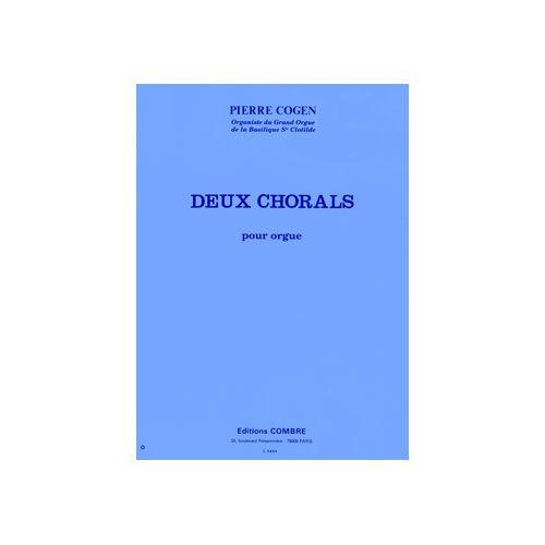COMBRE COGEN PIERRE - CHORALS (2) : UNE ROSE... - DE TOUT COEUR... - ORGUE