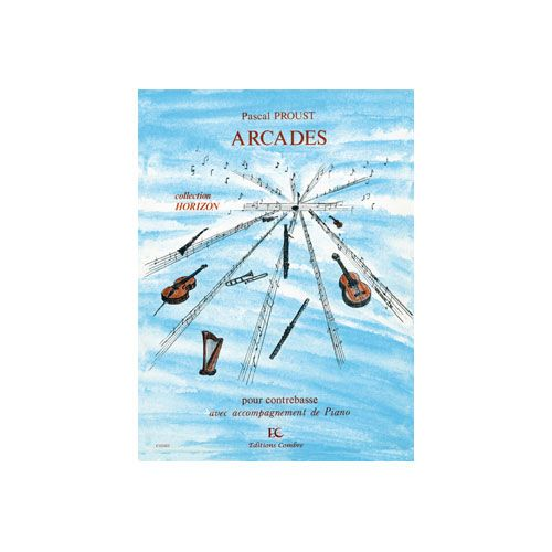 COMBRE PROUST PASCAL - ARCADES - CONTREBASSE ET PIANO