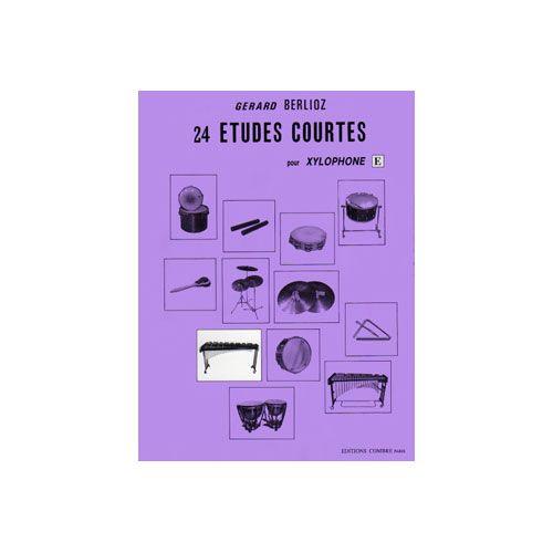 COMBRE BERLIOZ GERARD - ETUDES COURTES (24) VOL.E - XYLOPHONE