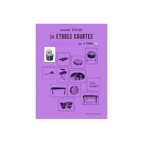 COMBRE BERLIOZ GERARD - ETUDES COURTES (24) VOL.J - 2 TOMS