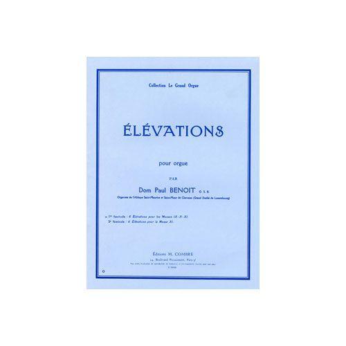 COMBRE BENOIT D. P. - ELEVATIONS POUR LES SANCTUS DES MESSES IX-X-XI (6) - ORGUE