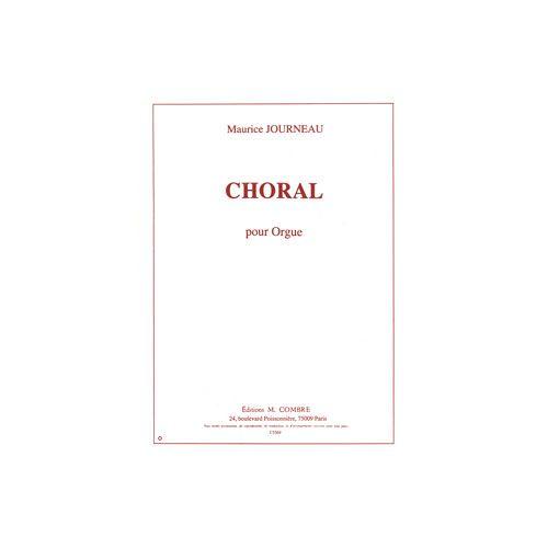 COMBRE JOURNEAU MAURICE - CHORAL OP.17 - ORGUE