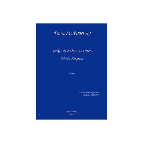 COMBRE SCHUBERT FRANZ - UNGARISCHE MELODIE - PIANO