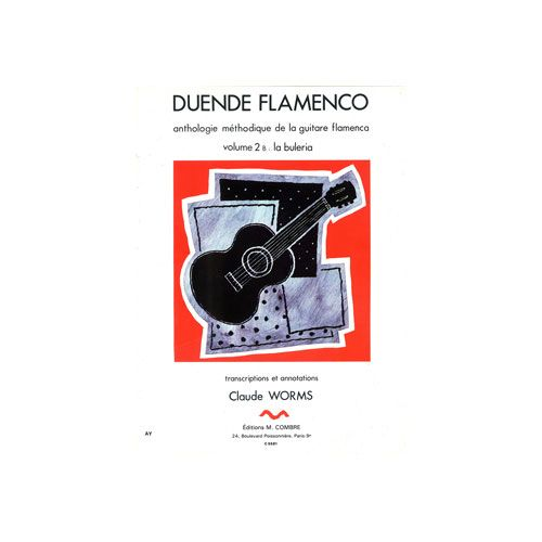 COMBRE WORMS CLAUDE - DUENDE FLAMENCO VOL.2B - BULERIA - GUITARE FLAMENCA