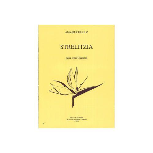 COMBRE BUCHHOLZ ALAIN - STRELITZIA - 3 GUITARES
