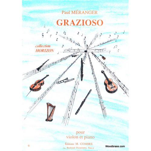 COMBRE MERANGER P. - GRAZIOSO - VIOLON ET PIANO