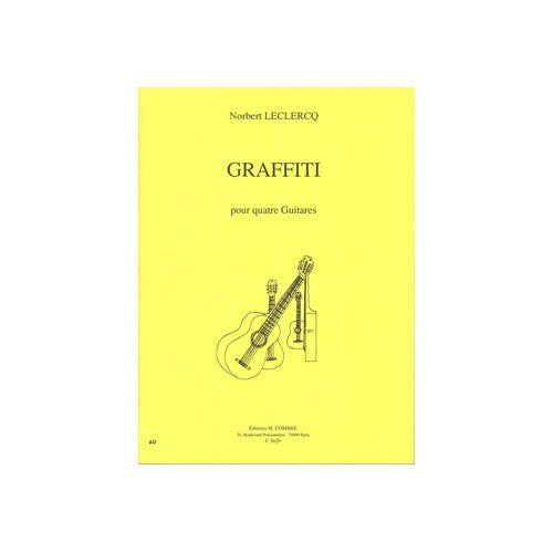 COMBRE LECLERCQ NORBERT - GRAFFITI - 4 GUITARES