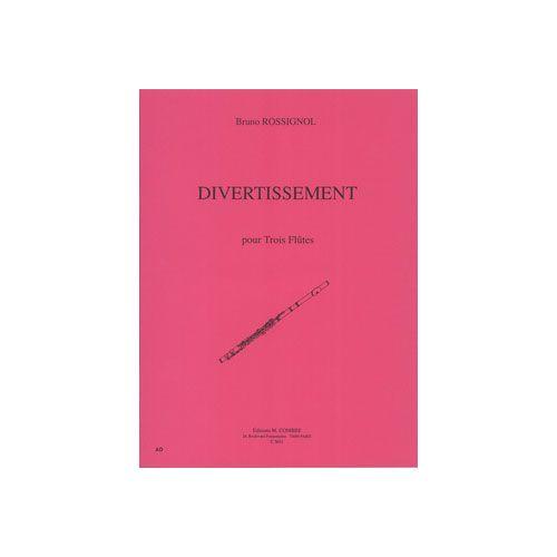 COMBRE ROSSIGNOL BRUNO - DIVERTISSEMENT - 3 FLUTES