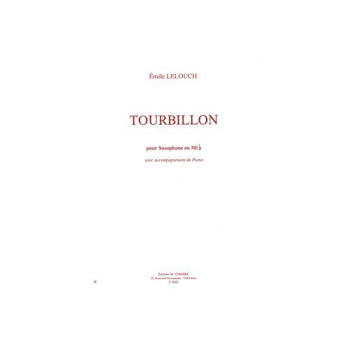 COMBRE LELOUCH EMILE - TOURBILLON - SAXOPHONE MIB ET PIANO