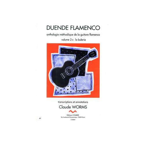 COMBRE WORMS CLAUDE - DUENDE FLAMENCO VOL.2D - BULERIA - GUITARE FLAMENCA