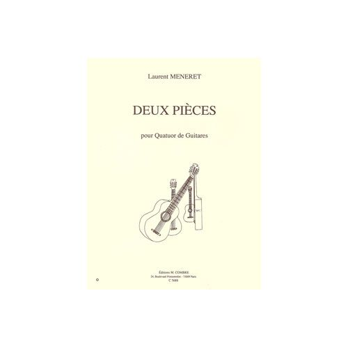 COMBRE MENERET LAURENT - PIECES (2) : FOLKIES - MARCHE - 4 GUITARES